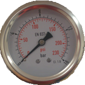 Manometer 16bar